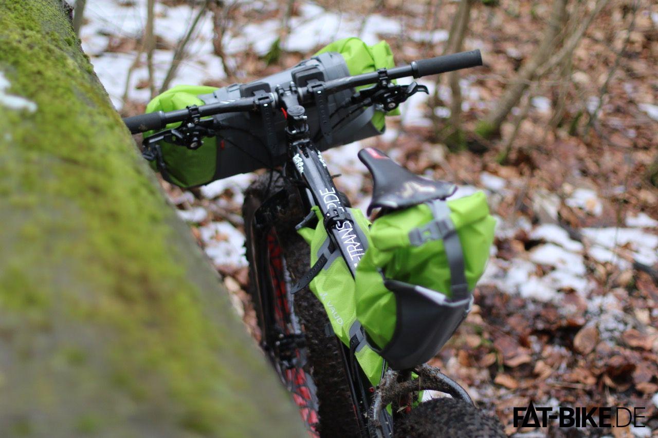 VAUDE Bikepacking Taschen Set am FatBoy Expert