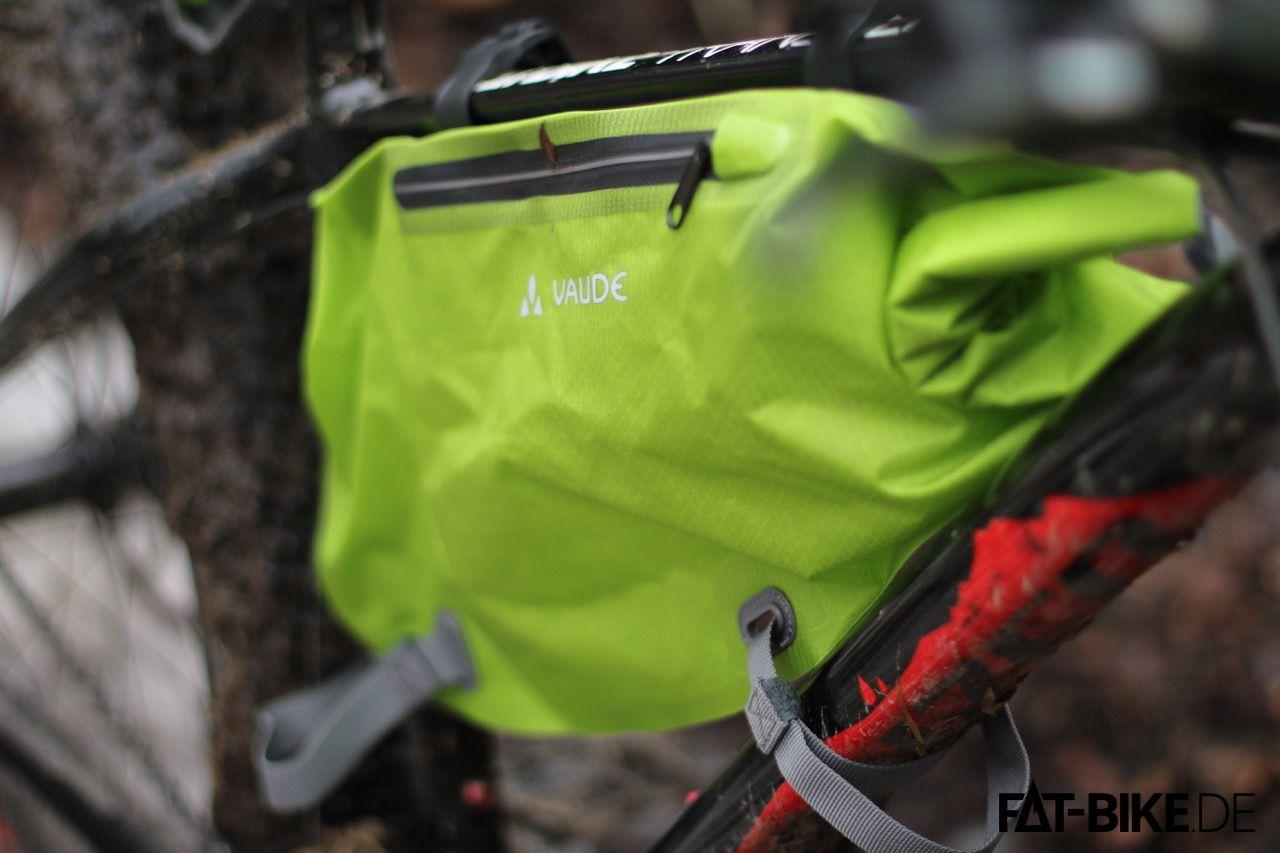 Trailframe Tasche aus der VAUDE Bikepacking Serie