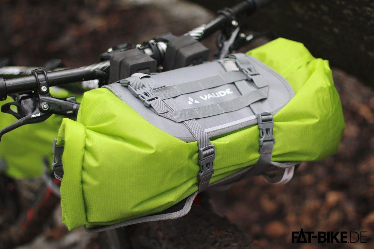 Trailfront Tasche aus der VAUDE Bikepacking Serie