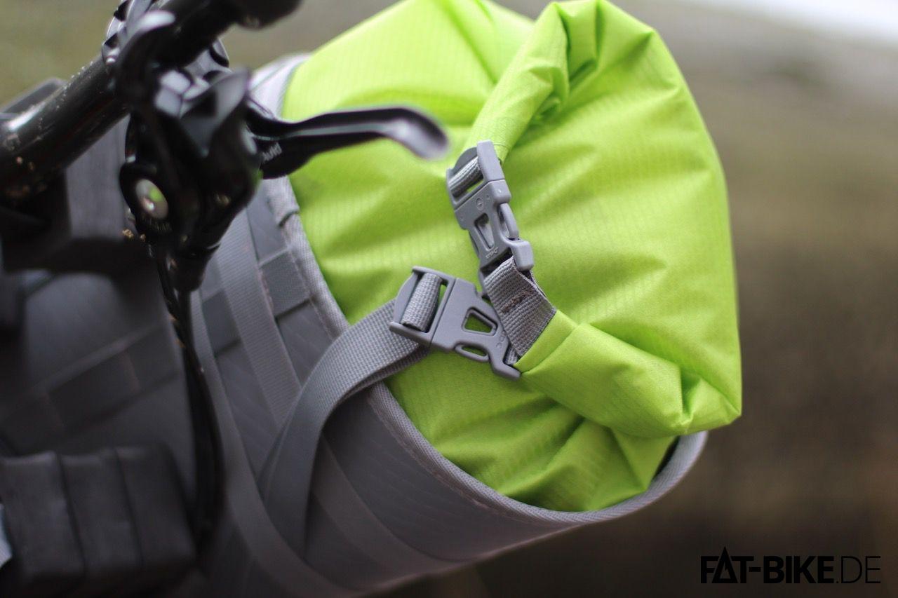 Wasserdicht, der Packsack mit Rollverschluss der Trailfront Tasche von VAUDE