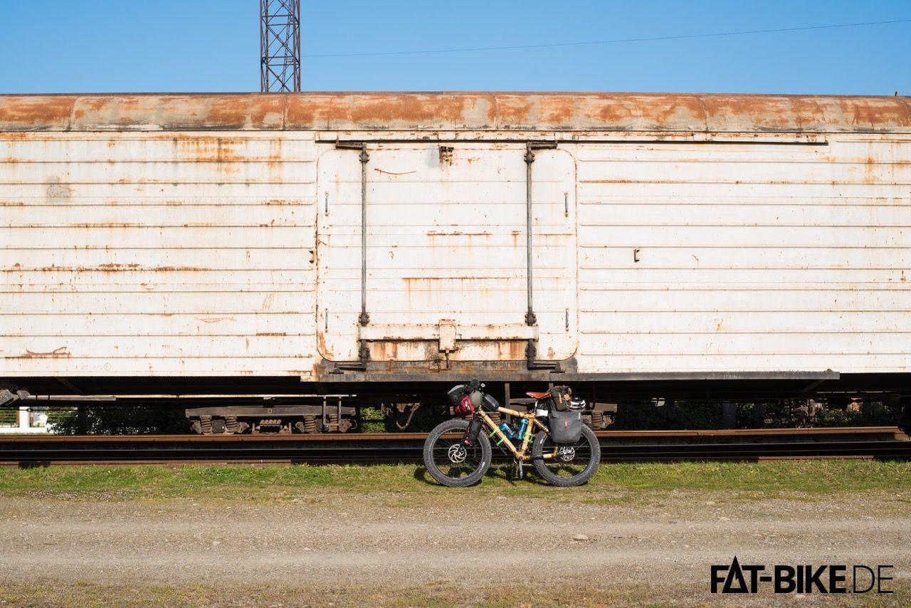 Zug fahren wär viel zu einfach...