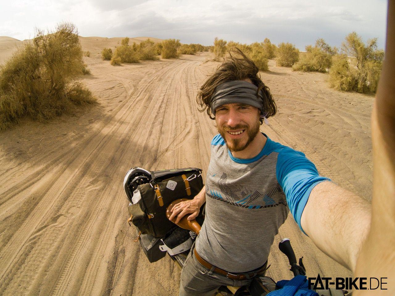 Ab durch die Wüste, mitten im Iran