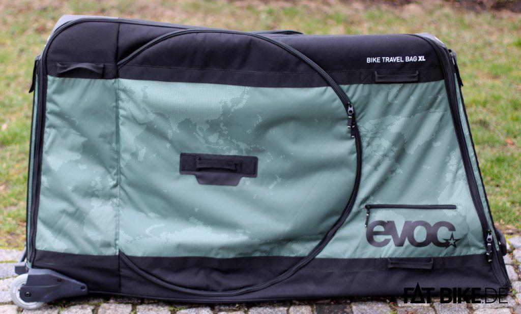 Packt jedes FATBike: die EVOC Bike Travel Bag XL FATBike Tasche