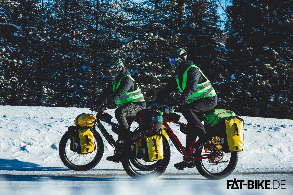 Ein Leben ohne FATBike können sich Jussi und Andrej nach ihrer Finnland-Querung nicht mehr vorstellen (Foto by Luca)