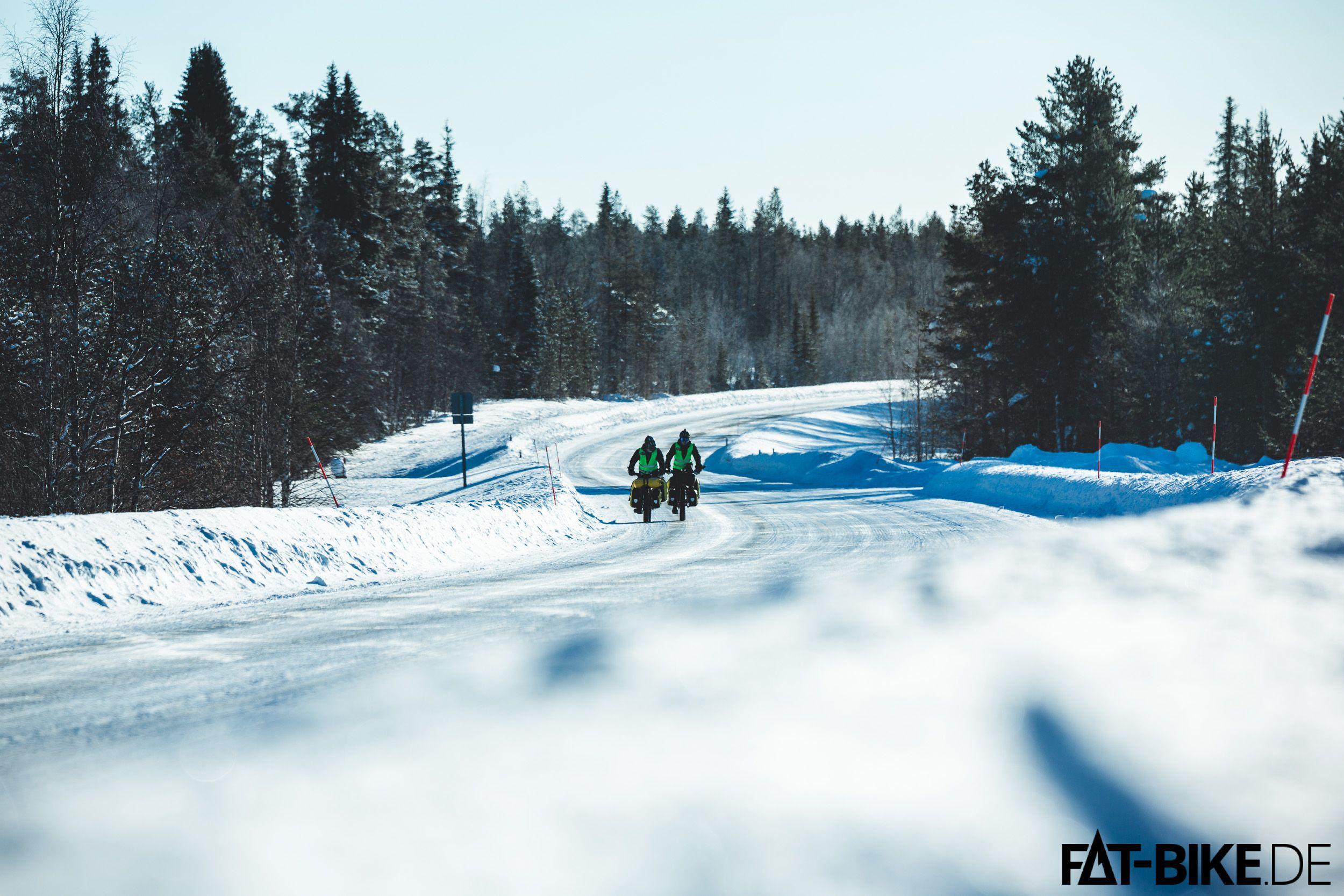 Andrej und Jussi auf ihrem Tripp durch Finnland
