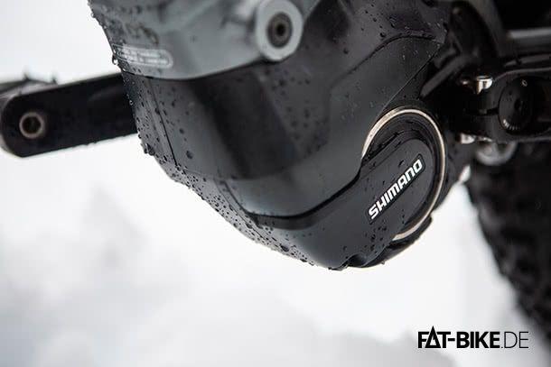 Shimano Motor am Norco FATBike (Quelle: Norco.com)