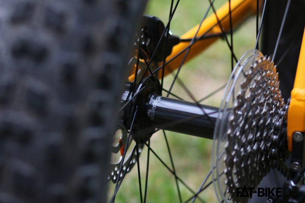 SunRingle MuleFut Laufradsatz am FATBIke unter 1.000 EUR? Silverback macht's vor!