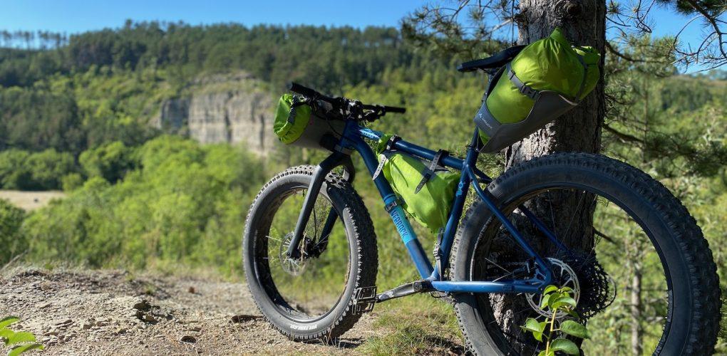 Overnighter mit dem FATBike: kleines Bikepacking-Abenteuer