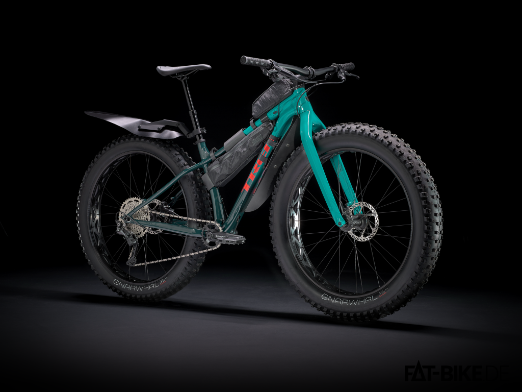 Gut bepackt das neue Trek Farley 5 (Quelle: trekbikes.com)