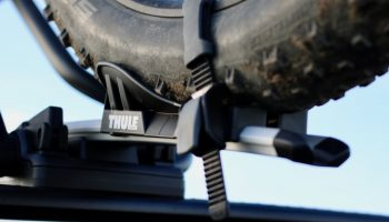 Thule ProRide Dachträger mit FATBike Adapter